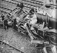 Accident at Welwyn Garden City on 15th June 1935