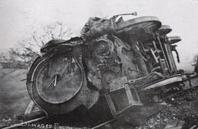 Accident at Thingley Junction on 16th January 1907