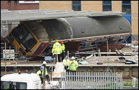 Accident at Potters Bar on 10th May 2002