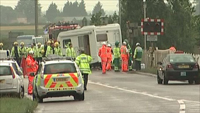 Accident at Littleport on 17th October 2008