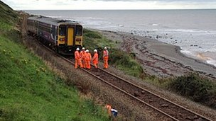 Accident at St Bees on 30th August 2012