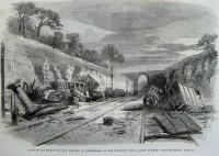 Accident at Winchburgh on 13th October 1862
