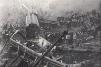 Accident at Wellingborough on 2nd September 1898