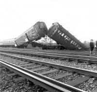 Accident at Hampton Court Junction on 23rd February 1979