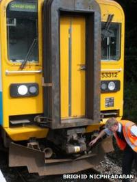 Accident at Knighton on 30th August 2012